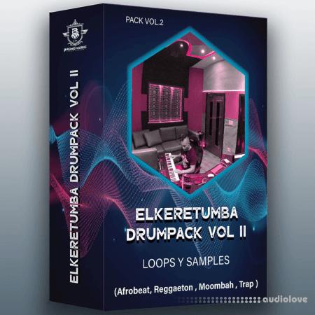 Elke Retumba Drum Pack Loops Y Ssamples For Afrobeat Y Reggaeton WAV