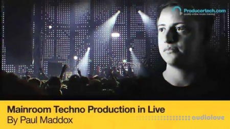 Producertech Mainroom Techno Production in Live TUTORiAL