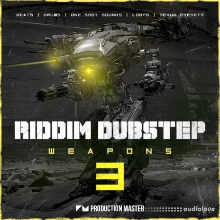 Production Master Riddim Dubstep Weapons 3 WAV Synth Presets