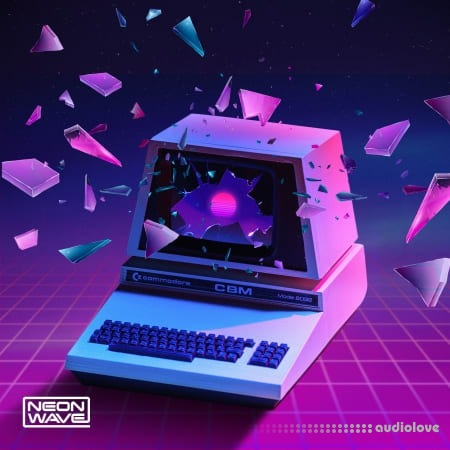 Neon Wave Elements and Patterns Progressive Synthwave