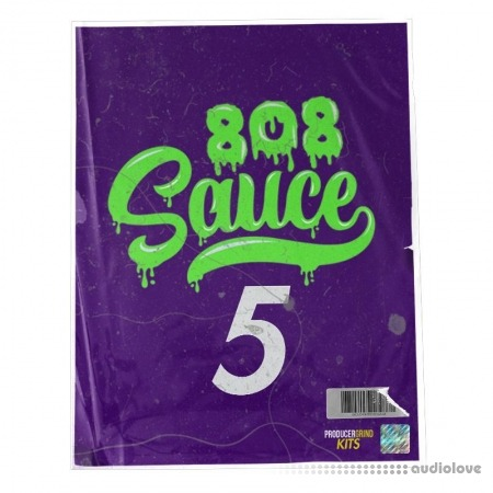 ProducerGrind '808 SAUCE 5' 808 BASS PATTERN MIDI KIT
