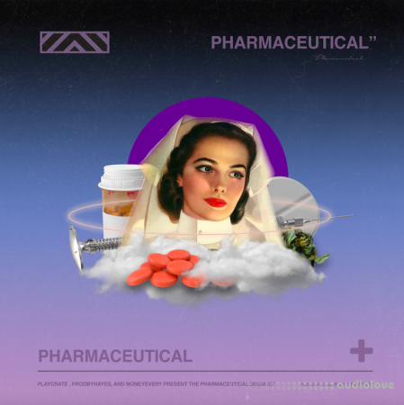 Playcrate Pharmaceutical Drum Kit
