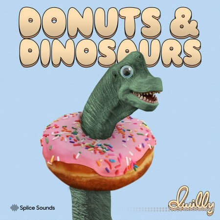 Splice Sounds dwilly donuts and dinosaurs sample pack WAV MiDi Synth Presets