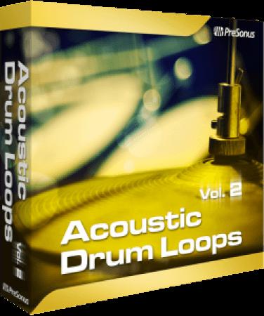 Presonus Acoustic Drum Loops Pro Vol.02 SOUNDSET