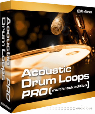 Presonus Acoustic Drum Loops Pro Vol.01 Acoustic Earthy 03