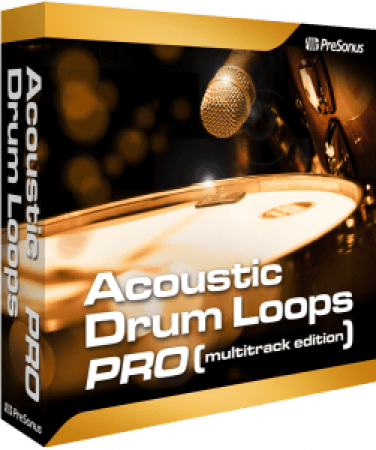 Presonus Acoustic Drum Loops Pro Vol.01 Acoustic Earthy 01 SOUNDSET