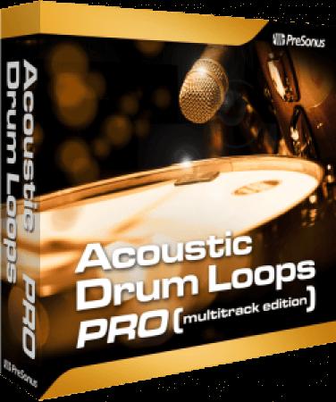 Presonus Acoustic Drum Loops Pro Vol.01 Acoustic Earthy 01 SOUNDSET