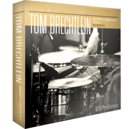 PreSonus Tom Brechtlein Drums Vol.01 Stereo SOUNDSET Synth Presets