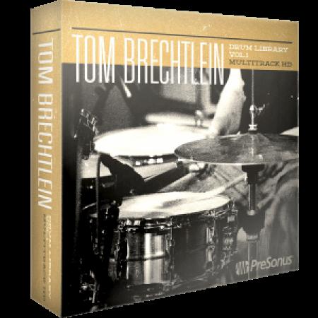 PreSonus Tom Brechtlein Drums Vol.01 HD Multitrack SOUNDSET