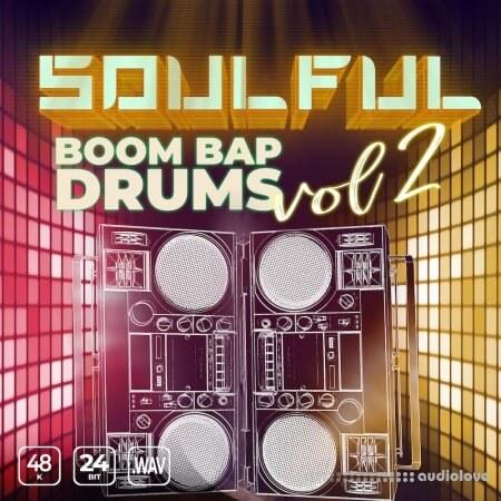 Epic Stock Media Soulful Boom Bap Drums Vol.2
