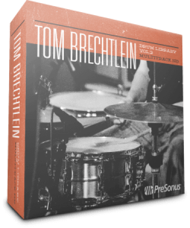 PreSonus Tom Brechtlein Drums Vol.02 HD Multitrack and Stereo SOUNDSET
