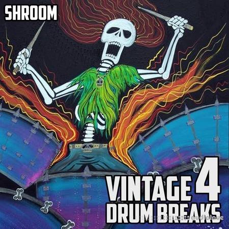 Shroom Vintage Drum Breaks Vol.4 WAV