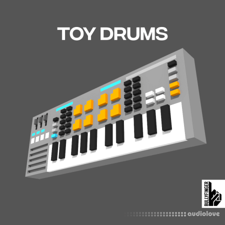 Bullyfinger Toy Drums