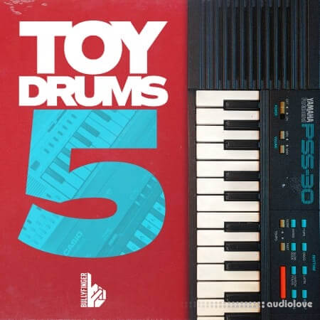Bullyfinger Toy Drums 5