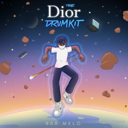 808 Melo Dior Drum Kit