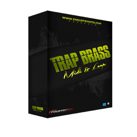Industry Kits Trap Brass MIDI and Loop Pack