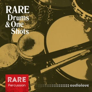 RARE Percussion Drums and One Shots