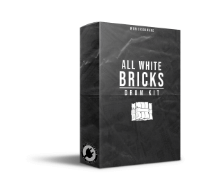 The Producers Plug Bricks Da Mane All White Bricks (Drum Kit)