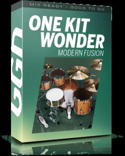 GetGood Drums One Kit Wonder Modern Fusion