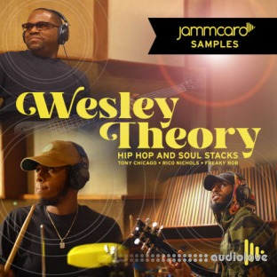 Jammcard Samples Wesley Theory Hip-Hop And Soul Stacks