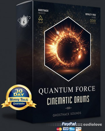 Ghosthack Sounds Quantum Force Cinematic Drums