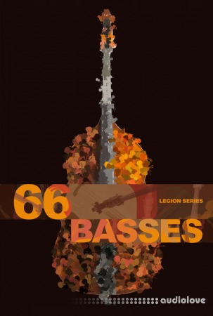 8Dio Legion Series: 66 Bass Ensemble