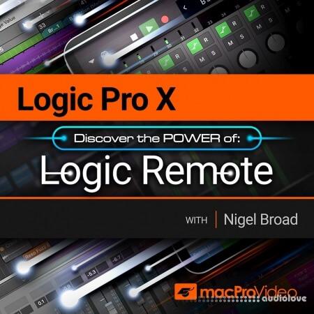 MacProVideo Logic Pro X 107 Logic Remote