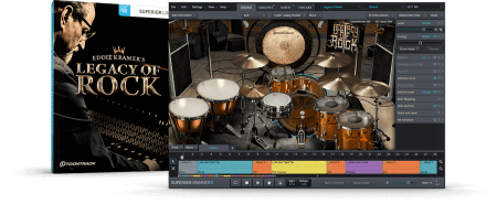 Toontrack Legacy Of Rock SDX