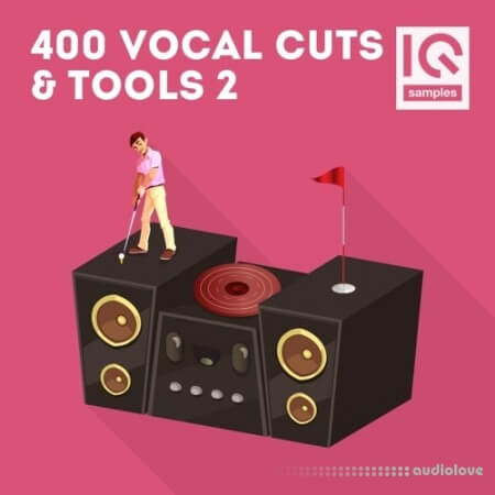 IQ Samples 400 Vocal Cuts and Tools Vol.2