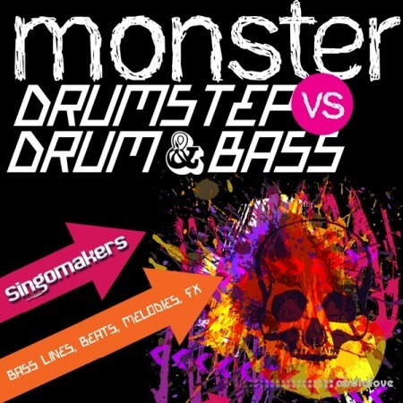 Singomakers Monster Drumstep VS Drum and Bass WAV REX