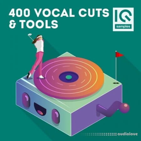 IQ Sample 400 Vocal Cuts and Tools MULTiFORMAT