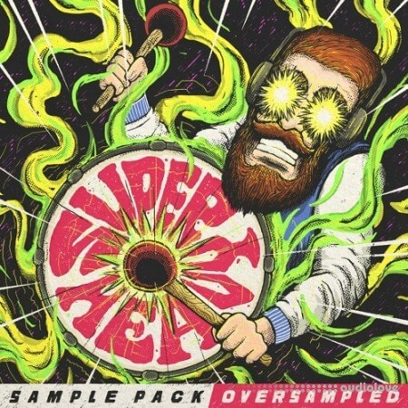 Oversampled SUPER HEAVY 1000 Drums HyperPack