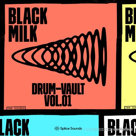 Splice Sounds Black Milk Drum Vault Sample Pack
