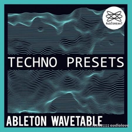 Audioreakt Ableton Wavetable Techno Bank