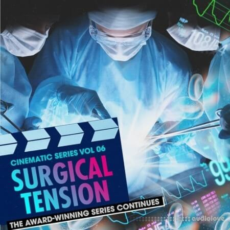 Producer Loops Cinematic Series Vol.6 Surgical Tension MULTiFORMAT
