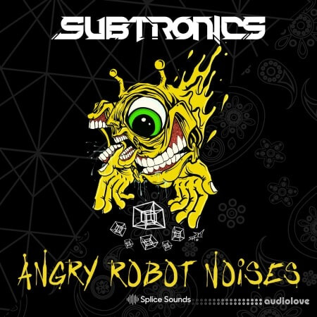Splice Sounds Subtronics Angry Robot Noises Sample Pack