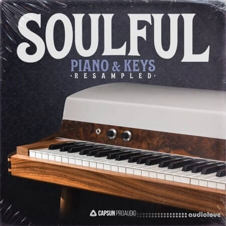 Capsun ProAudio Soulful Piano And Keys Resampled