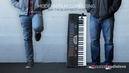 CreativeLIVE Modern Film Composing Will and Brooke Blair