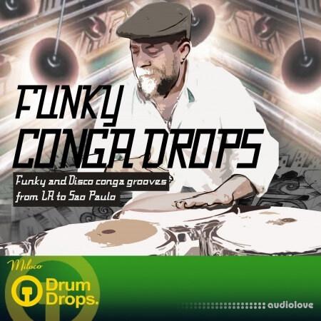 DrumDrops Funky Conga Drops