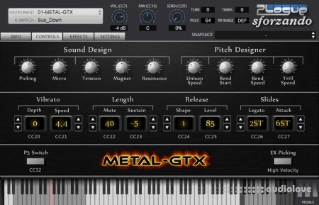 Unreal Instruments METAL-GTX