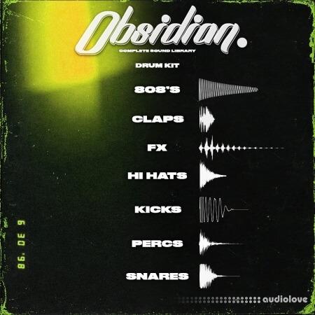 ProdbyJack Obsidian Drum Kit