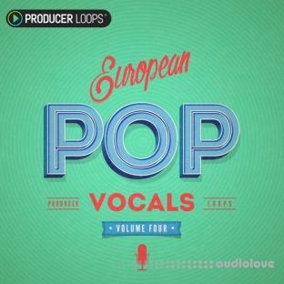 Producer Loops European Pop Vocals Vol.4