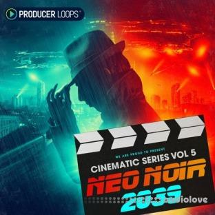 Producer Loops Cinematic Series Vol.5 Neo Noir 2039