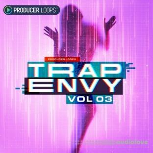 Producer Loops Trap Envy Vol.3