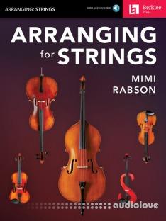 Berklee Press Arranging for Strings by Mimi Rabson