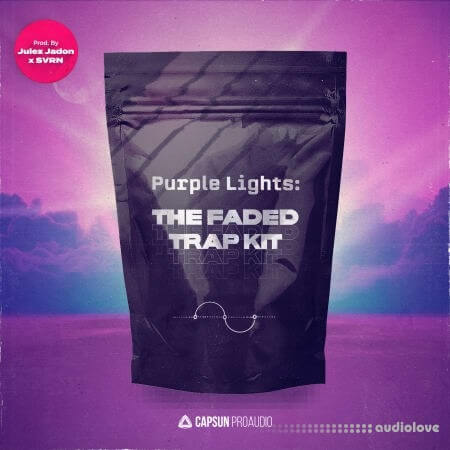 Capsun ProAudio Purple Lights The Faded Trap Kit