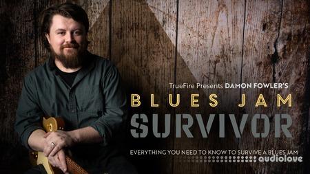 Truefire Damon Fowler Blues Jam Survivor