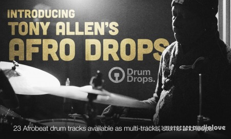 DrumDrops Tony Allens Afro Drops Loops Pack