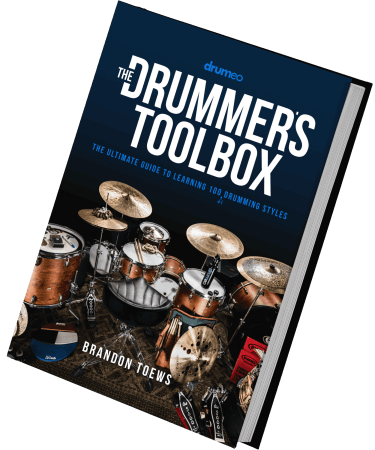 Drumeo The Drummer's Toolbox: The Ultimate Guide to Learning 100 (+1) Drumming Styles