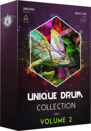 Ghosthack Sounds Unique Drums Collection Volume 2